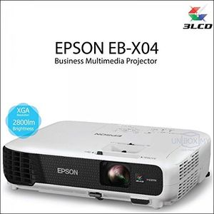 Epson EB-X04 1080p Full HD LCD Projector Price in India