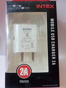 Intex ESU320 2A USB Wall Charger Price in India