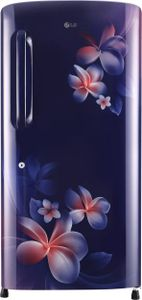LG GL-B221ABPX 215 L 4 Star Inverter Direct Cool Single Door Refrigerator (Plumeria) Price in India