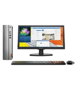 Lenovo 510S-08IKL (90GB000QIN) (Intel i3,4GB,1TB,DOS) All In One Desktop Price in India