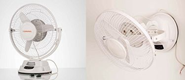 Sparkel SPSTWF-125 3 Blade (300mm) Table Cum Wall Fan Price in India