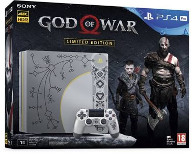 Sony PS4 Pro 1TB Gaming Console (With God Of War) Price in India