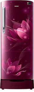 Samsung RR20N182XB8/HL 192 L 5 Star Inverter Direct Cool Single Door Refrigerator (Blooming Saffron) Price in India
