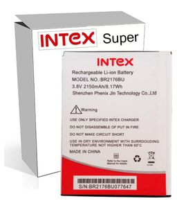Intex 2150mAh Battery (For Intex Aqua Super) Price in India
