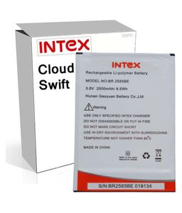 Intex 2500mAh Battery (For Intex Cloud Swift) Price in India