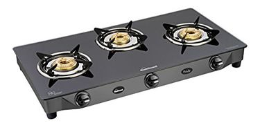 Sunflame Pride Gas Cooktop (3 Burners) Price in India