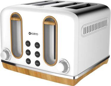 Koryo KPT4105BSS 4 Slice Pop Up Toaster Price in India