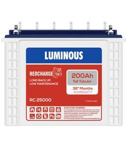 Luminous RC25000 200Ah Battery Price in India