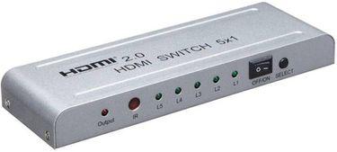 Microware HDMI 5x1 2.0 channel 4K Media Streaming Device Price in India