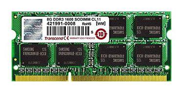 Transcend JetRam (JM1600KLH-8G) DDR3 8 GB Laptop RAM Price in India