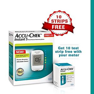 Accu-Chek Instant Blood Glucose Monitor Price in India