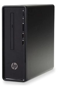 HP Slimline 290-a0007il (Intel Celeron J4005, 4GB, 1TB , HDD, DVD Writer,DOS)Desktop Price in India