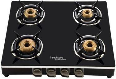 Hindware Milano Manual Gas Cooktop (4 Burners) Price in India
