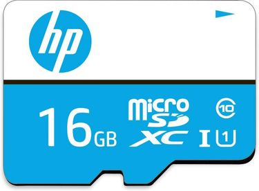 HP 16GB MicroSDHC Class 10 (80MB/s) Memory Card Price in India