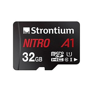 Strontium Nitro A1 32GB Micro SDHC Class 10 (100MB/s) Memory Card (With Adapter) Price in India