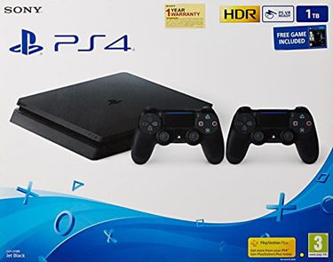 Sony PS4 Slim 1TB Gaming Console (The Lost Of Us and DS4) Price in India