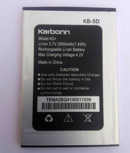 Karbonn A2 2000 mAh Battery Price in India