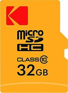 Kodak 32GB MicroSDHC Class 10 Memory Card (With Adapter) Price in India