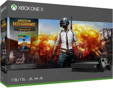 Microsoft Xbox One X 1TB Gaming Console (With Player Unknow's Battlegrounds) Price in India