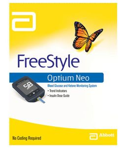 Abbott Free Style Optium Neo Blood Glucose Monitor Price in India