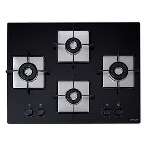 Elica Flexi HCT 470 DX Lotus Auto Ignition Gas Cooktop (4 Burners) Price in India
