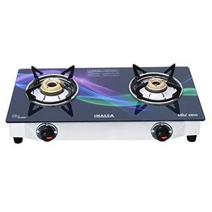 Inalsa Glitz Stainless Steel Gas Cooktop (2 Burners) Price in India
