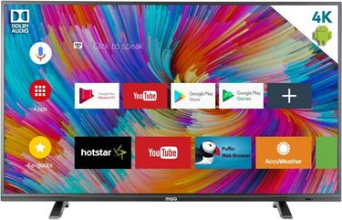 MarQ by Flipkart (65SAUHD) 65 Inch 4K Ultra HD Smart LED TV Price in India