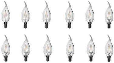 Opple 4W Candle E14 LED Bulb (Yellow, Pack of 12) Price in India