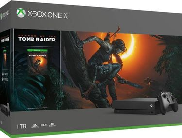 Microsoft Xbox One X 1TB Gaming Console (With Shadow Of The Tomb Raider Bundle) Price in India