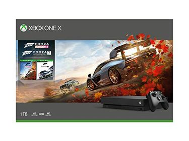 Microsoft Xbox One X 1TB Gaming Console (With Forza Horizon 4 Bundle) Price in India