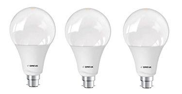 Oreva Premium 20W B22 LED Bulb (White, Pack of 3) Price in India