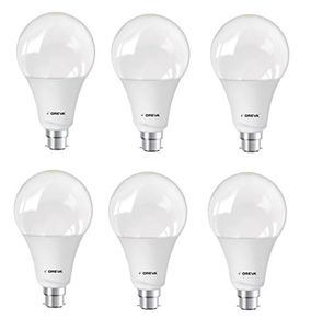 Oreva Premium 20W B22 LED Bulb (White, Pack of 6) Price in India