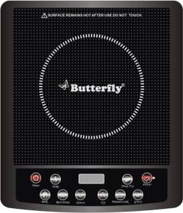 Butterfly Power Hob Jet 1600W Induction Cooktop Price in India