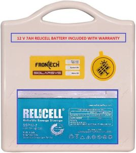 Frontech Relicell Square Wave Inverter With Relicell 12V 7Ah Battery Price in India