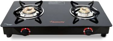 Butterfly Rapid 2 Burner Manual Gas Stove Hob Price in India
