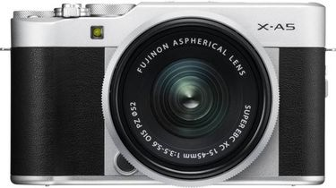 Fujifilm X-A5 DSLR Camera (with 15 mm - 45 mm Lens) Price in India