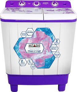 Mitashi 7.2 kg Semi Automatic Top Load Washing Machine(MiSAWM72v45) Price in India