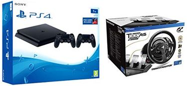 Sony PS4 Slim 1TB Console and Thrustmaster T300 RS Price in India