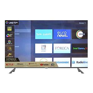 Hitachi LD65HTS08U 65 Inch 4K Ultra HD Smart LED TV Price in India