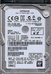 Hitachi HTS727550A9E364 500GB SATA 3.5 Hard Drive Price in India