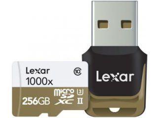 Lexar LSDMI256CBNL1000R 256GB Class 10 MicroSDXC Memory Card Price in India