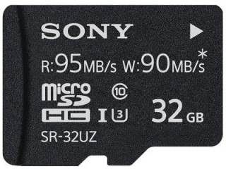 Sony SR-32UZA 32GB Class 10 MicroSDHC Memory Card Price in India