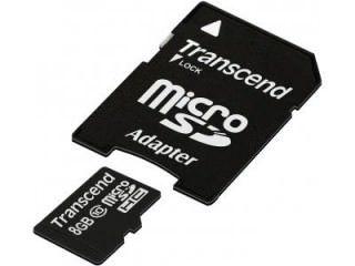 Transcend TS8GUSDHC10 8GB Class 10 MicroSDHC Memory Card Price in India