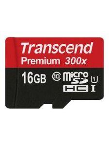 Transcend TS16GUSDCU1 16GB Class 10 MicroSDHC Memory Card Price in India