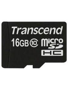 Transcend TS16GUSDC10 16GB Class 10 MicroSDHC Memory Card Price in India