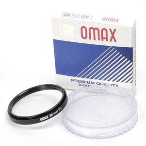 Omax 58mm uv Filter Price in India