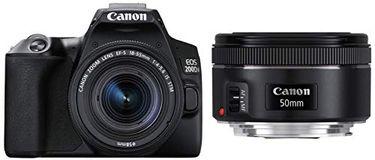 Canon EOS 200D II DSLR Camera (EF-S 18-55mm f/4-f/5.6 IS STM Kit Lens) Price in India