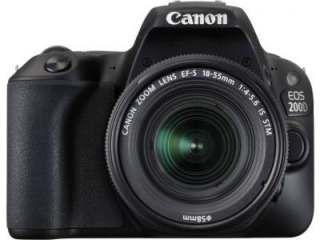 Canon EOS 200D DSLR Camera (EF-S 18-55mm f/4-f/5.6 IS STM Kit Lens) Price in India