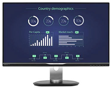 Philips 258B6QUEB 25-Inch HD Ready LCD Monitor Price in India