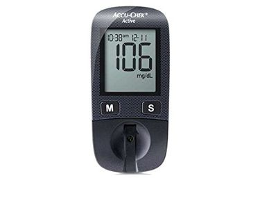 Accu-Chek Active Glucometer (With 10 Strips) Price in India